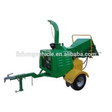 Chine gros moteur diesel bois chipper, bois broyeur diesel, défibreur chipper bois pto piloté par