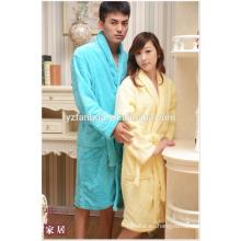 Caliente paño grueso y suave albornoz mejor precio baratos secado rápido parejas