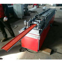 Galvanized steel shutter door roll forming machine