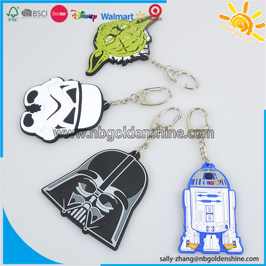 Promotion Soft Rubber Keychain