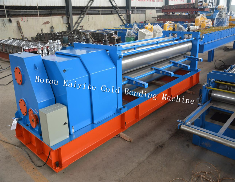 Barrel Type Corrugated Sheet Forming Machine
