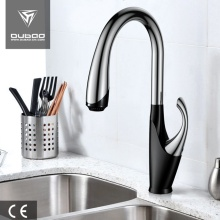 Contemporary One Handle Black Kitchen Tap