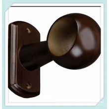 35MM wall wood ceiling curtain brackets