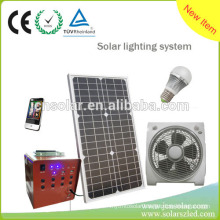 Household Portable Solar Power Generator With Battery and Charger
