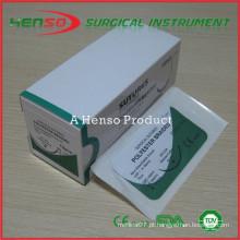 Rosca de sutura cirúrgica estéril Henso