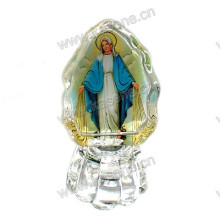 Cristal, penduradas, cruz, casamento, favores, cristal, jesus, cruz