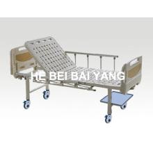 A-83 cama de hospital móvel de função única móvel