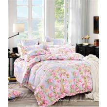 2016 New Product Rose Design 100% Cotton Duvet Cover Bedding Set