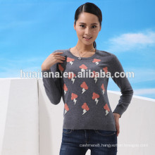 fashion design woman's wool sweater