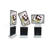 Rotate Screen 42 Inch LCD Touch Screen Floor Kiosk ,  Metal
