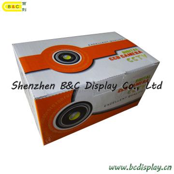 Kamera-Verpackungskasten / Farbkasten-nach Maß / gewölbter grafischer Karton / Farben-Kasten-Fabrik (B & C-I010)