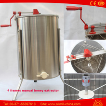 Professional Honey Processing Machine 4 Frames Manual Honey Extractor
