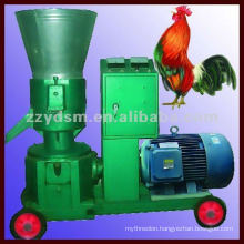 High density Flat-die animal feed pellet press machine