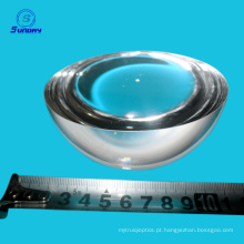 Lentes grandes de vidro ópticas da bola do h-k9l de 50mm - de 150mm e meio das lentes da bola