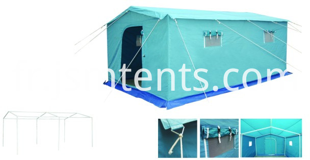 Disaster relief refugee canvas military tent