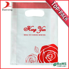 Heat Sealing Die Cut shopping Plastic Bag