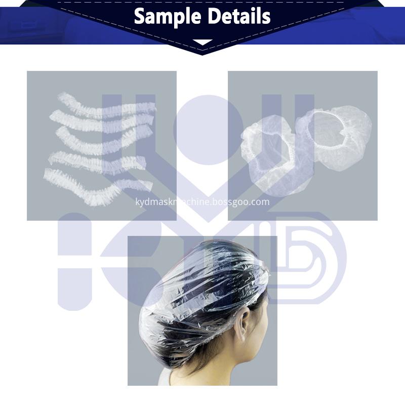 shower cap samples detail