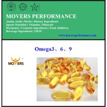 Omega3 \ 6 \ 9 / Capsules de plantes / Sans conservateurs