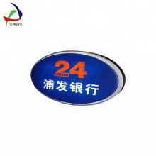 HIPS customized vacuum forming plastic light box letter manufacturer