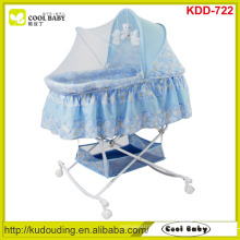 Cool-baby NEW Design Butterfly Mosquito net cover Portable Baby Bassinet Large Storage Basket Rocking Cradle Child Product