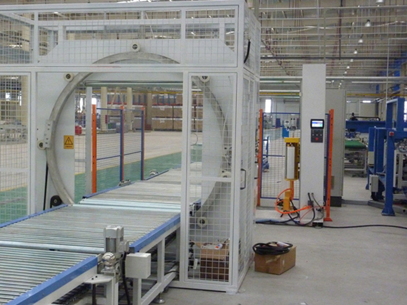 Aluminum Profile Wrapping Machine
