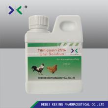 Solução de Tilmicosina 30% 1000ml Aves