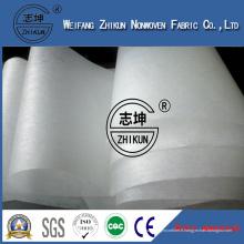 Fabricant non-tissé imperméable hydrophobe de tissu de SMS SMMS pour des matières premières de couche-culotte