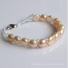 Fashion Nature Freshwater Pearl Bracelet (EB1527-1)