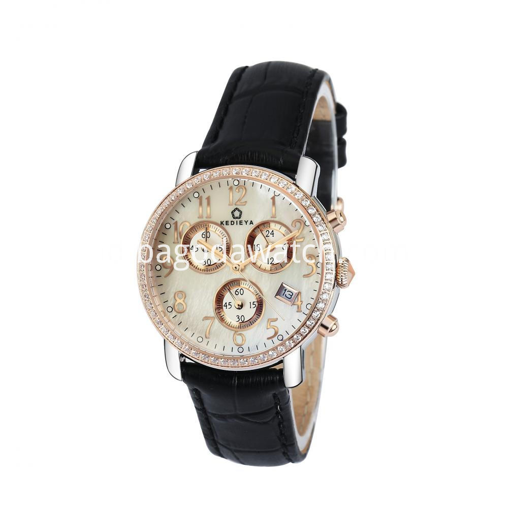 Chronograph Quartz Women Watch