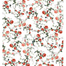 Polyester Floral Digital bedruckte gewebte Kleidungsstück Stoff