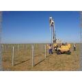 Pilote de pieu pour installation de centrale solaire photovoltaïque