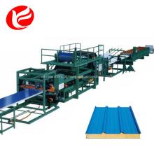 Máquina de sanduíche de painel Eps / linha de produção de folha de sanduíche