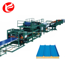 Eps panel sandwich machine /sandwich panel sheet wall production line