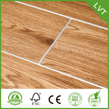 Jualan Hot Luxury Vinyl Plank Floorings Dengan Fiberglass