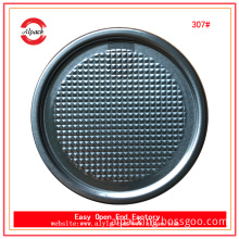 China factory wholesale 307# aluminum foil peel off lid