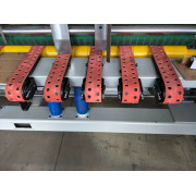 QZ920B Full Automatic Down Folding Corrugated Cardboard Folder Gluer Packing Machinery
