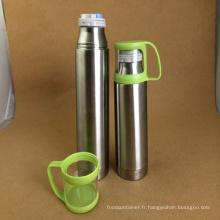 Tasse à vide en acier inoxydable avec couvercle (CL1C-A55)