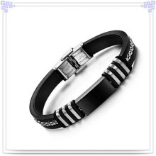 Fashion Jewelry Rubber Bracelet Silicone Bracelet (LB258)