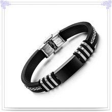 Moda jóias de borracha bracelete de silicone pulseira (lb258)
