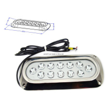 12X3w 24V LED Boat Surface Mount Marine Light