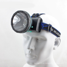 Construído em recarregável Super Focusing longo alcance CREE Q5 LED Headlamp