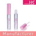 cosmetic round lip gloss tube