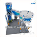 Truss trade show booth pop up with banner booth stand exhibition display equipment