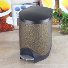 Slow Down Close Noiseless Foot Pedal Dust Bin (S-8LJ)