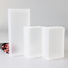 pp Polypropylene transparent plastic box