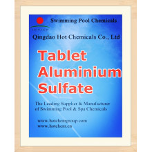 Tablet Flocculant Aluminium Sulfate for Water Treatment Chemicals CAS 10043-01-3