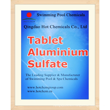 Tablet Flocculant Aluminium Sulfate for Water Treatment Chemicals ...