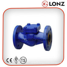 DIN Standard Cast Steel Wcb Flanged Lift Type Check Valve