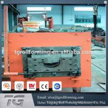 Heißer Verkauf Dachrinne Rollenformmaschine Aluminium Dachrinne Maschine