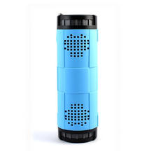 10000mAh big power waterproof bicycle bluetooth speaker with power bank